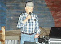 Robert serenades the crowd at the Client Appreciation Event at Austin Ranch in Grapevine, TX October 2010
