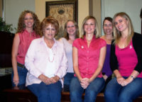 "RRP again participates in Lee's ""Denim Day"" to raise funds for Women's Cancer Programs of the EIF October 2011"