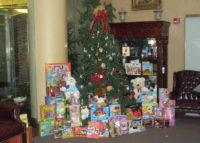 RRP clients participate in our annual Toys for Tots drive at the Holiday Open House December 2010