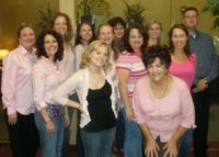 "RRP participates in Lee's ""Denim Day"" to raise funds for Women's Cancer Programs of the EIF October 2010"