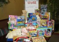All of the toys donated to Toys for Tots by our wonderful clients December 2009