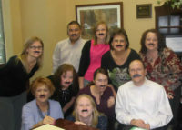 "Rosenthal wears mustaches in support of men's cancer awareness in a worldwide movement known as ""Movember"" November 2011"